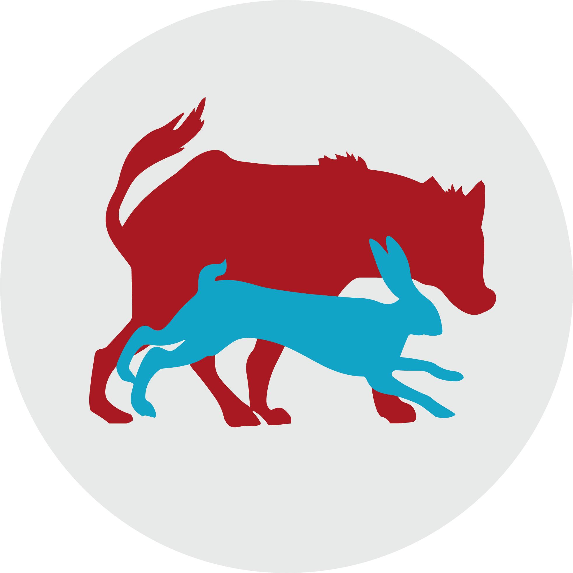Hares and Hyenas Logo