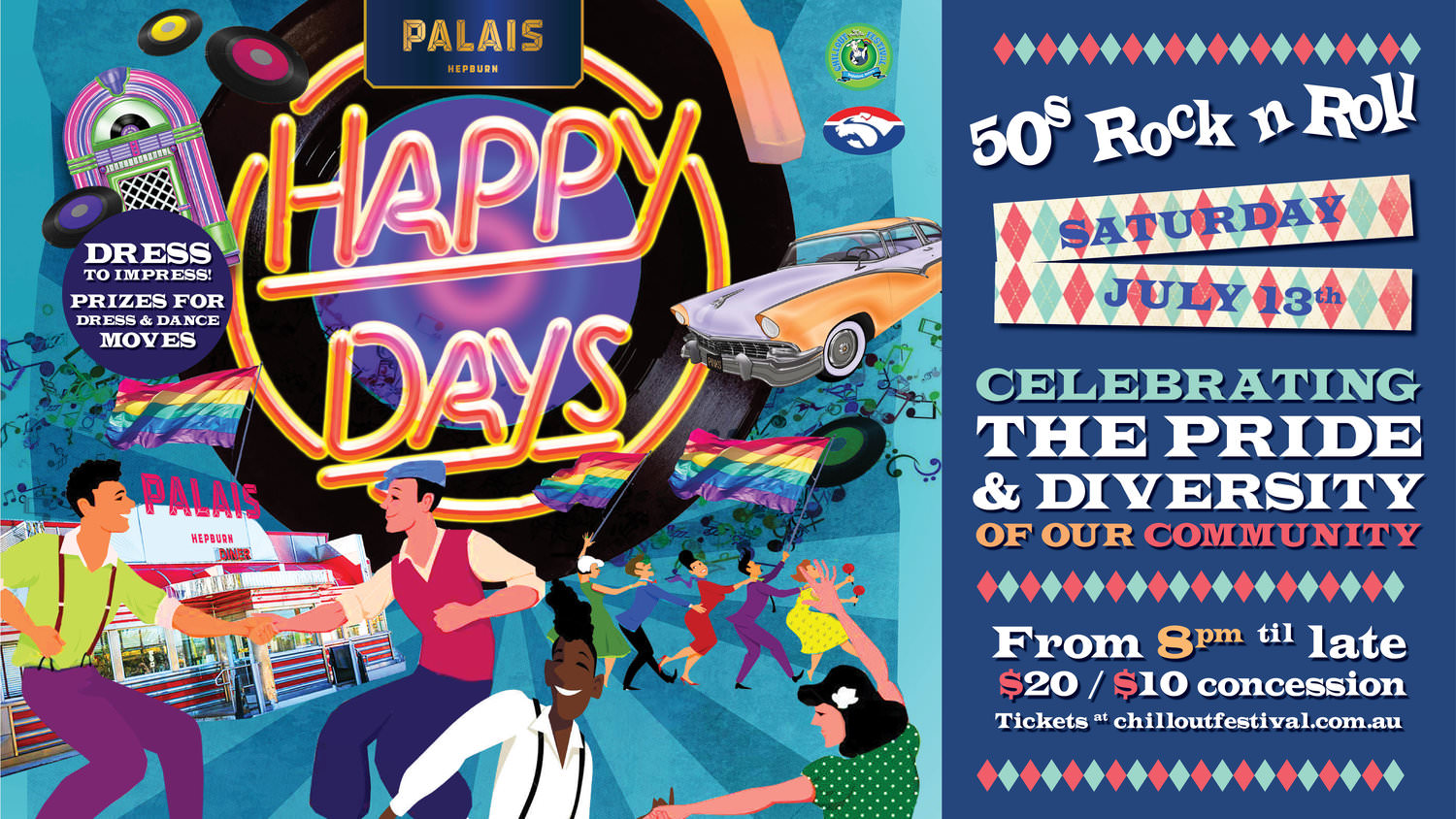 Happy Days Event Flyer