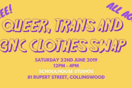 Queer, Trans and GNC Clothes Swap