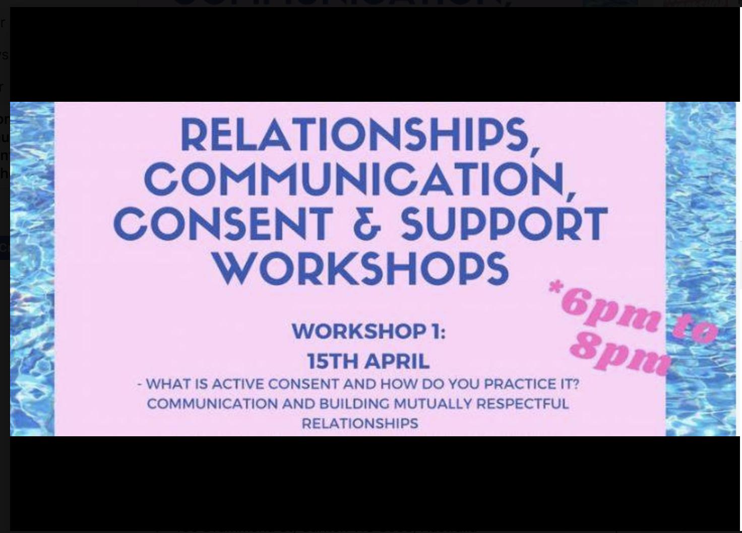 Relationship Workshop