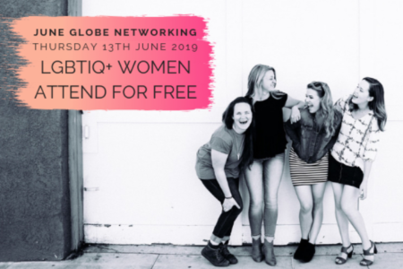 Globe Networking Event Flyer