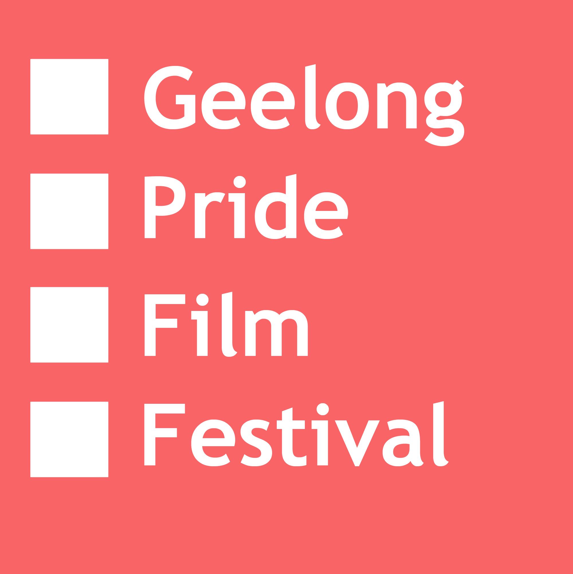 Geelong Pride film festival Logo