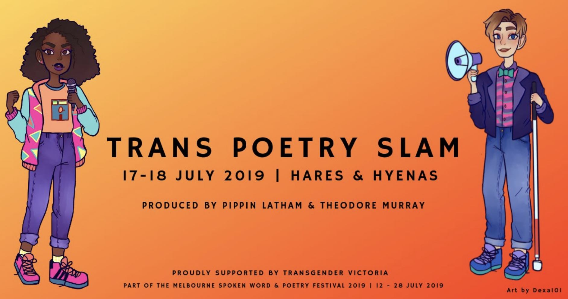 Trans Poetry Slam at MSWPF 2019 (Heats) - Victorian Pride Centre