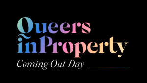 Queers in Property banner