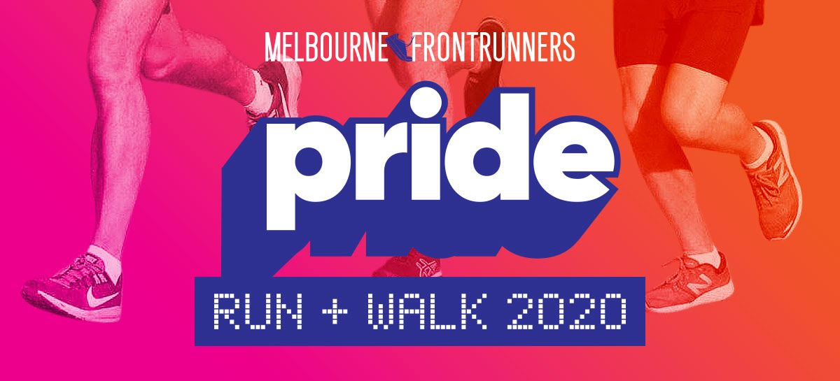 Melbourne FrontRunners Pride Walk and Run 2020