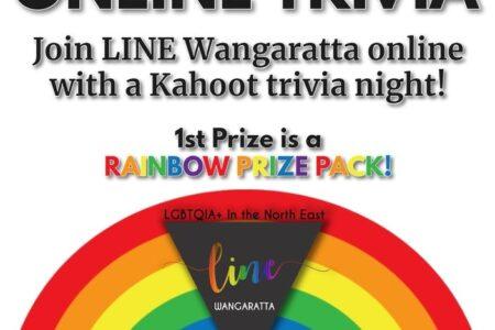 Trivia Night (ONLINE/Wangaratta)