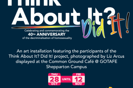 """""""Think About It? Did it!"""" project launch & opening of Festival (GOTAFE)"""