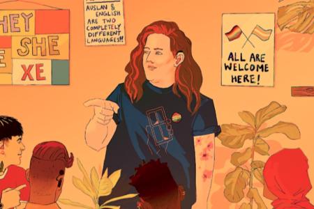 QUEER SOCIAL – Queer Auslan with Hadley